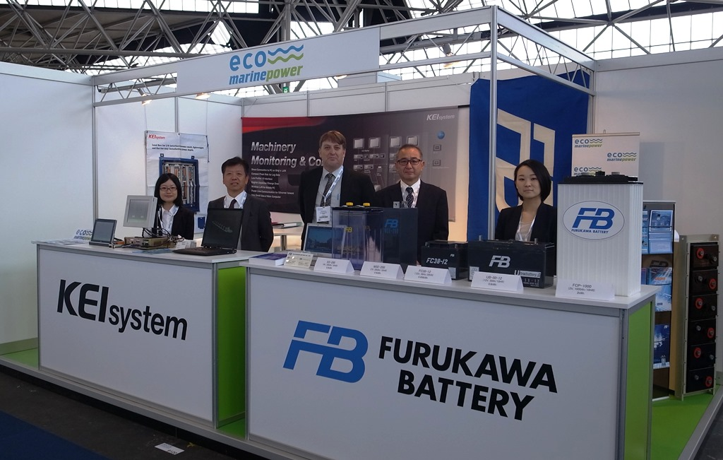 Eco Marine Power and Strategic Partners at Exhibition