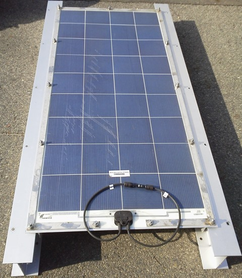 Solar Panel & Frame for Ship Use